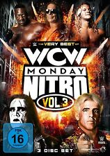 BRET/GOLDBERG/HOGAN,HULK STING/HART -THE VERY BEST OF WCW NITRO VOL.3 3 DVD NEW
