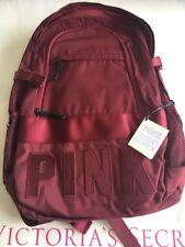 Victorias Secret Pink Collegiate Backpack Maroon/ Burgundy Bp55