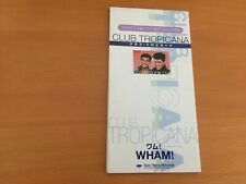 JAPAN 8CM 3 INCH PROMO CD WHAM CLUB TROPICANA GEORGE MICHAEL
