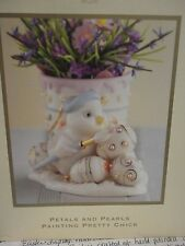Lenox Occassions Easter Petals and Pearls Painting Pretty Chick #789802 MIB