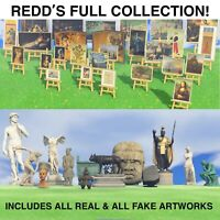 Animal Crossing New Horizons Redd's Artwork Collection Complete!