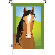 "Silly Filly Horse Garden Flag (12"" x 18"" Approx) Pr 51584"