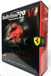 BABYLISS PRO VOLARE FERRARI VI HAIR DRYER - RED