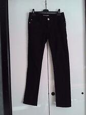"""Jeans Donna Ragazza """"N&P 79 Jeans"""" Tg. 38 Colore Nero Originali Occasione!!!"""
