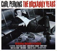 CARL PERKINS - THE ROCKABILLY YEARS  - 40 ORIGINAL  CLASSICS (NEW SEALED 2CD)