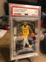 2019-20 Panini Prizm Lebron James PSA Mint 9 #129 Lakers NBA Champions MVP