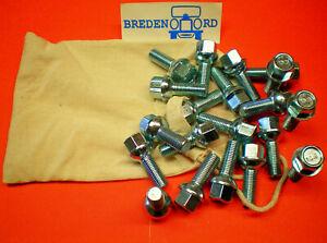 20 Radschrauben für Mercedes  Barock  Alufelgen  R107 W108 W114  W116 W123 W126