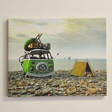 Impresión De Lona VW no Camping Pared Arte licencia oficial de Volkswagen #54005