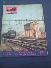 vie du rail 1953 395 ligne Valenciennes Thionville boucle de LYON COLLONGES