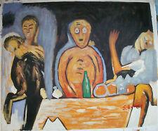 """Pintura al Óleo Arte Abstracto laminado o estirado 20X24"""" 30 diferentes REF2"""
