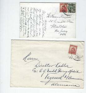 MEXICO-COVERS-OLDER--(5)-USED-FINE- EXTERNAL-NICE FRANKING-#135