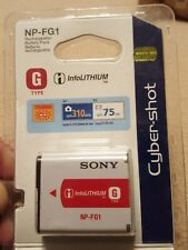 Sony NP-FG1 Li-Ion InfoLITHIUM Cyber-Shot Camera Rechargeable Battery Pack - NEW