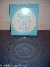 SANRIO HELLO KITTY 30TH ANNIVERSARY ANGEL GLASS PLATE LIMITED EDITION JAPAN 2004