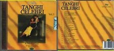 BATTAINI MARIO TANGHI CELEBRI VOLUME 3 CD SEALED 1993