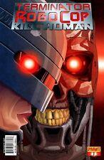 TERMINATOR ROBOCOP KILL HUMAN #1 Tom Feister Cover DYNAMITE ENTERTAINMENT