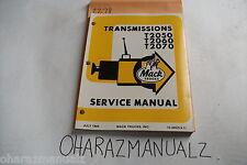 mack mdrive service manual