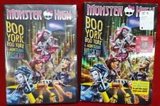 MONSTER HIGH BOO YORK BOO DVD NEW with Bonus Feature