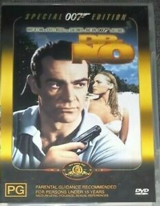 Dr No (DVD, 2001) VGC - Comes with Booklet