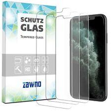 3x Echt Glas iPhone X Xs Xr 11 11 Pro Max Panzerfolie Hart Display Schutzfolie