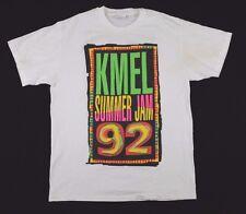 Vtg 1992 KMEL Summer Jam T-Shirt Large hip hop r&b rap bay area radio
