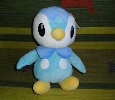 "Pokemon blue plush Piplup Build a Bear Workshop stuffed animal toy doll BABW 15"""