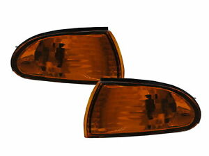 SUMMIT MK2 1993-1996 Sedan 4D Clear Corner Light Amber/Yellow for EAGLE