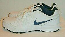 Nike T Lite XI Trainer Athletic Shoes White Black 616544-101 Mens Size US 11.5