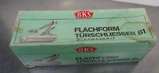 Lagerfund - Älterer orign. Verpackter BKS Flachform Türschlieser 81 Viscostabil