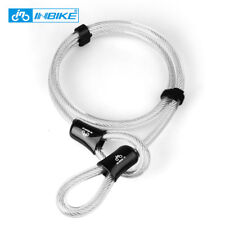 Security Double Loop Cable Strong Braided Steel For Bike 12mm Chain Lock