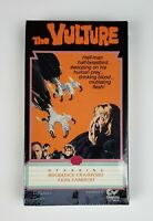 NEW The Vulture VHS Congress Video 1989 OOP Rare Horror Cult B-Movie SEALED