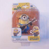 Despicable Me Minions Movie Guitar Strumming Stuart Action Figure ~NEW~