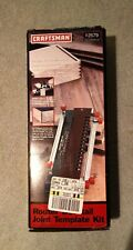 Craftsman Router Dovetail Joint Template Kit  92579