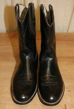 Bottes boots roper western neuve femme cuir noir P41 made in Mexico