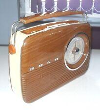 VINTAGE RETRO 1990s BUSH  TR82 RADIO CLASSIC WOOD EFFECT & CREAM FM/MW/LW BAND