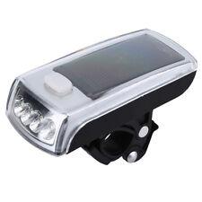 Luce Bici Torcia Fanale Faro Anteriore Ricaricabile USB Solare LED Lampada