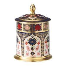 Royal Crown Derby 1st Quality Old Imari Solid Gold Band 35oz Storage Jar