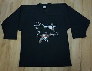 Worcester Sharks Black CCM Promotional Youth Jersey Kids size S/M Autographed