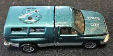 Space City (Houston) Hot Wheels Collectors Club Car from 1996 Dodge Ram Truck