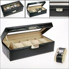 SAFE 264 Watch case, box for 5 watches, UHRENKOFFER , Uhren Schatulle