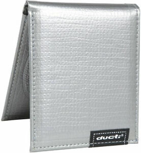 Ducti Classic Silver Duct Tape Bifold Wallet NEW