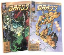 Brass (2000 2nd Series Wildstorm) 1 & 2 Comics Books