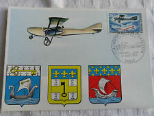 CARTE MAXIMUM 1ere LIAISON POSTALE REGULIERE PAR AVION 17 AOUT 1918 PREMIER JOUR