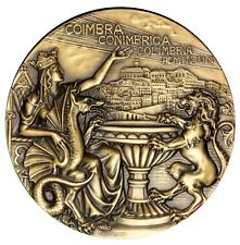 DRAGON / LION KING / QUEEN / CITY OF COIMBRA / GREAT BRONZE MEDAL BY ANTUNES M51