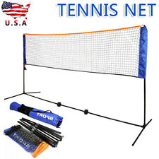 5M Large Adjustable Portable Foldable Badminton Tennis Volleyball Net Stand us