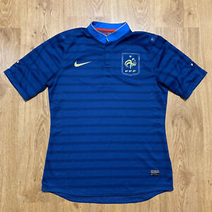 France 2012/2013 Player Issue Home Football Shirt Jersey Nike Size L
