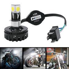 1xH4 H6 BA20D LED Motorcycle Headlight Bulb High Low Beam Fog Light Lamp 2000lm