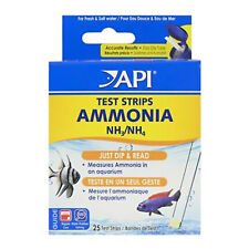 API Ammonia Test Kit Strips Aquarium Water NH3 NH4