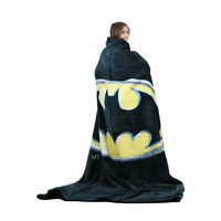 "Batman ""Emblem"" Royal Plush Twin / Queen Size Blanket"