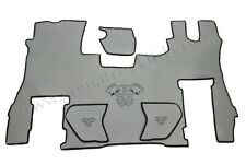 """FULL FLOOR MAT with DOOR CARDS """"SMOOTH ECO LEATHER"""" for SCANIA S New Generation"""