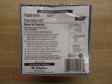 """BWF TGB-54V Four Hole 1/2"""" Cover (Pack of 3)"""